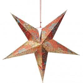 LATERNA MAGICA Dekorační hvězda květinové kruhy Vánoční dekorace na okno