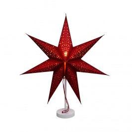 Obrázek LATERNA MAGICA Papírová dekorační hvězda 60 cm - červená Vánoční dekorace na okno