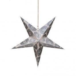 LATERNA MAGICA Papírová dekorační hvězda 60 cm - krémová