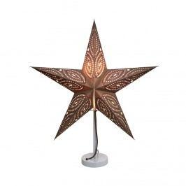 Obrázek LATERNA MAGICA Papírová dekorační hvězda 60 cm - tm. šedá Vánoční dekorace na okno