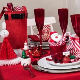 Obrázek SANTA Dekorační papírová čepice Vánoční dekorace