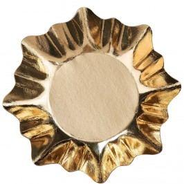 X-MAS Zlatý talíř, set 3 ks Vánoční dekorace