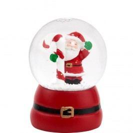 X-MAS Sněhová koule Santa Claus Vánoční dekorace