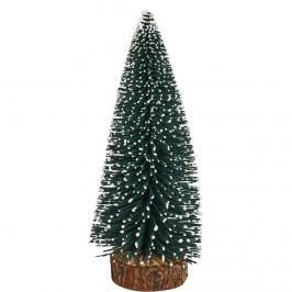 X-MAS Dekorační jedle zasněžená, 17 cm Vánoční dekorace