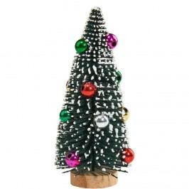X-MAS Dekorační jedle zdobená Vánoční dekorace