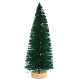 X-MAS Dekorační jedle se třpytkami, 23 cm - zelená Vánoční dekorace