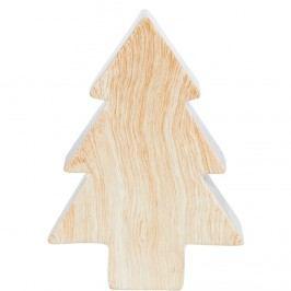 X-MAS Dekorační stromek vzhled dřeva