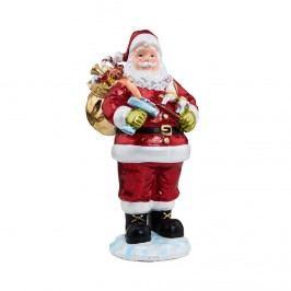 X-MAS Dekorační figurka Santa Vánoční dekorace