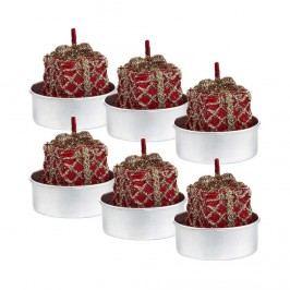 FLAMBEAU Čajová svíčka dárek 6 ks Dekorativní svíčky