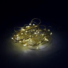 Obrázek BRIGHT NIGHTS LED Světelný drát zlatý 50 světel Vánoční osvětlení