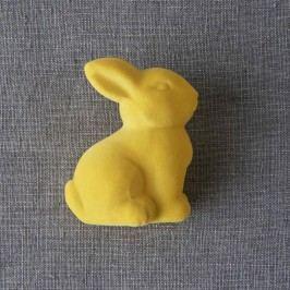 EASTER Velikonoční zajíček - žlutá Velikonoční dekorace