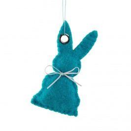 EASTER Filcová ozdoba zajíc - modrá
