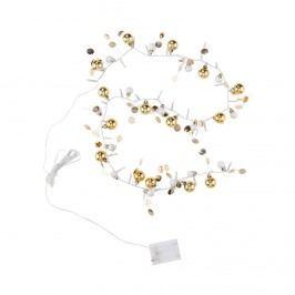 JOLLY LIGHTS LED Světelný řetěz s kuličkami - stříbrná/zlatá