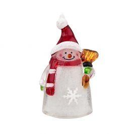 SANTA LIGHTS Světelná figurka sněhulák