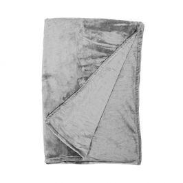 LAZY DAYS Flísová deka 150 x 200 cm - antracitová
