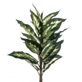 Umělá mramornatka skvrnitá, zeleno-krémová, 45 cm, HTH