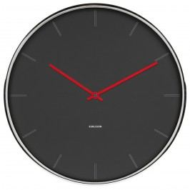 Karlsson 5643GY Designové nástěnné hodiny, 40 cm
