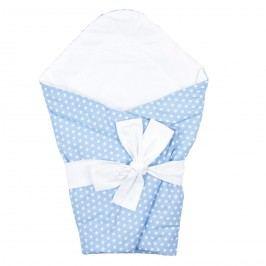 Hand Made by Luci Zavinovačka Hvězdičky modrá, 40 x 60 cm Dekorační polštáře