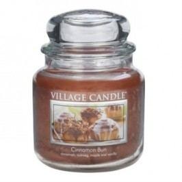 Village Candle Vonná svíčka ve skle, Skořicový koláč - Cinnamon Bun, 397 g