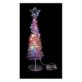 Ledko Vánoční stromeček 20 LED, barevný