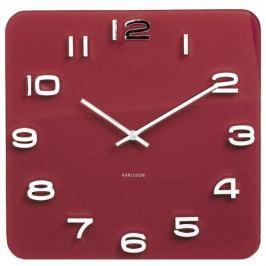 Karlsson 5641RD Designové nástěnné hodiny, 35 cm