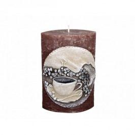 Dekorativní svíčka Elipsa Káva