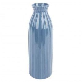 Elegantní váza Ivy modrá, 35 cm