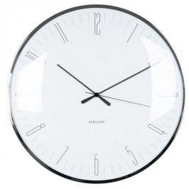 Karlsson 5623WH Designové nástěnné hodiny, 40 cm