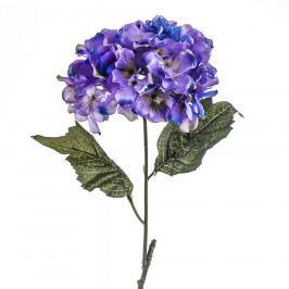 Umělá květina hortenzie modro-fialová, 60 cm, Livo Umělé květiny
