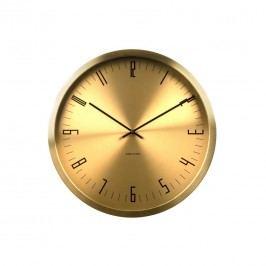 Karlsson KA5612GD Designové nástěnné hodiny, 44 cm