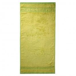 Jahu ručník bambus Hanoi zelená, 50 x 100 cm