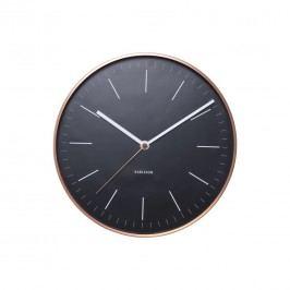 Karlsson 5507BK Designové nástěnné hodiny, 28 cm
