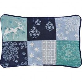 Sander Dekorační polštářek Northern stars modrá 32 x 48 cm