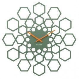 Karlsson 5639GR Designové nástěnné hodiny, 48 cm Hodiny