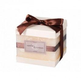 Dekorativní svíčka Elegance Vanilka a bavlna Dekorativní svíčky