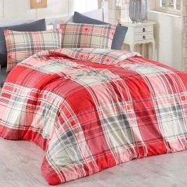 BedTex Bavlněné povlečení Alexia červená, 140 x 220 cm, 70 x 90 cm, 140 x 220 cm, 70 x 90 cm
