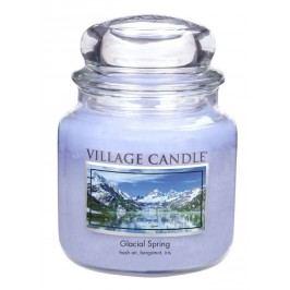 Village Candle Vonná svíčka ve skle, Ledovcový vánek - Glacial Spring, 16oz