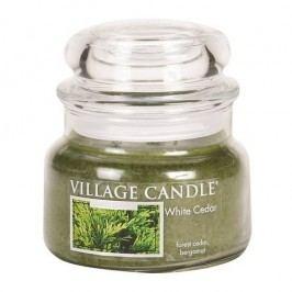 Village Candle Vonná svíčka ve skle Cedrové dřevo - White Cedar, 269 g