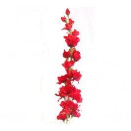 Umělá květina stračka, červená