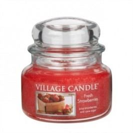Village Candle Vonná svíčka, Čerstvé jahody - Fresh Strawberry, 269 g