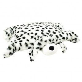 BO-MA Trading Polštářek Dalmatin s knoflíkem velký, 55 x 75 cm, 55 x 75 cm
