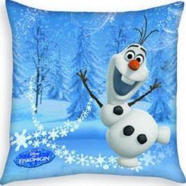 Herding Polštářek Ledové království Frozen Olaf blue, 40 x 40 cm