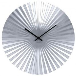 Karlsson 5657SI Designové nástěnné hodiny, 40 cm Hodiny