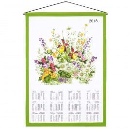Forbyt Kalendář 2018 Květové zátiší, 45 x 65 cm