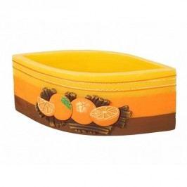 Dekorativní lampion Skořice a pomeranč, slza