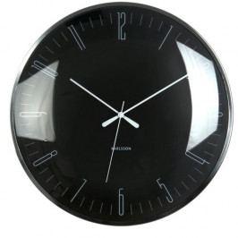 Karlsson 5623BK Designové nástěnné hodiny, 40 cm