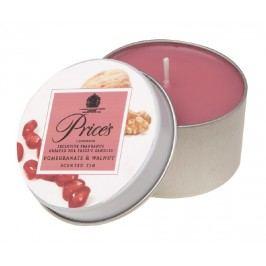 Price´s vonná svíčka v plechu Granátové jablko a ořech 3 ks