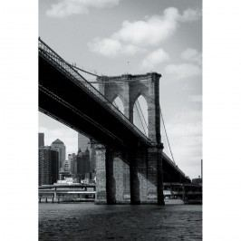 Up and Down Fototapeta Brooklyn Bridge, 158 x 232 cm