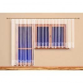 4Home Záclona Agáta, 300 x 160 cm + 200 x 250 cm, 300 x 160 cm + 200 x 250 cm