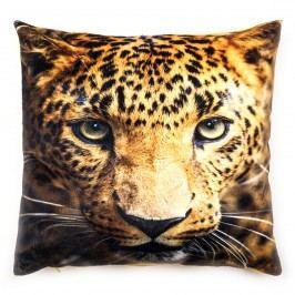 Trade Concept Povlak na polštářek mikroplyš Leopard, 40 x 40 cm